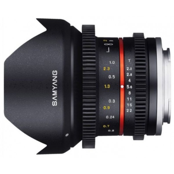 Samyang 12mm T2.2 NCS CS VDSLR Sony E