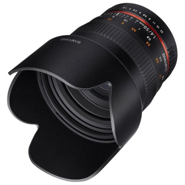 Samyang 50mm f/1.4 AS UMC Sony E