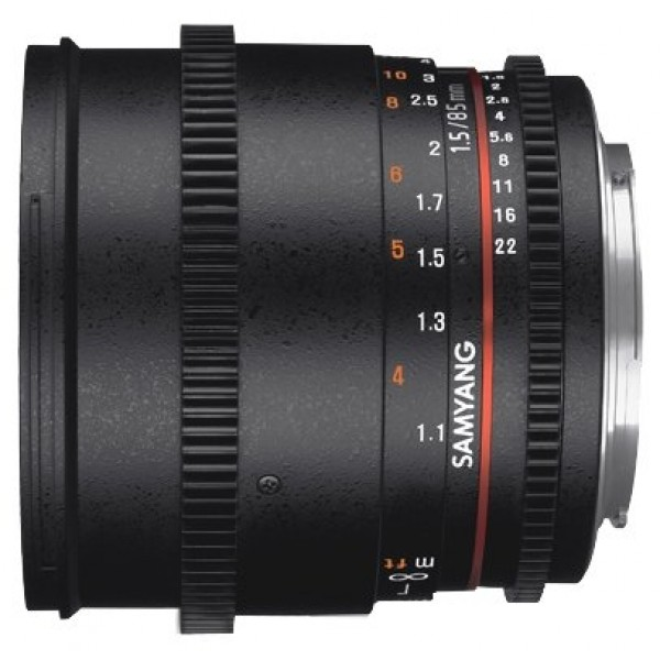 Samyang 85mm T1.5 AS IF UMC VDSLR II Canon M
