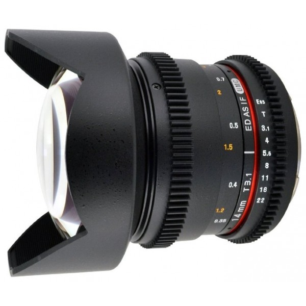 Samyang 14mm T3.1 ED AS IF UMC VDSLR Canon EF