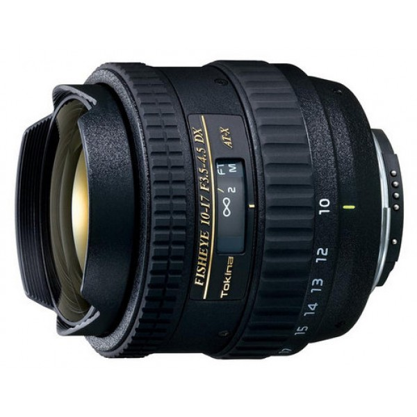 Tokina AT-X 10-17mm f/3.5-4.5 AF DX Fish-Eye Canon EF-S