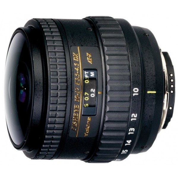 Tokina AT-X 10-17mm f/3.5-4.5 AF DX NH Fisheye Canon EF-S