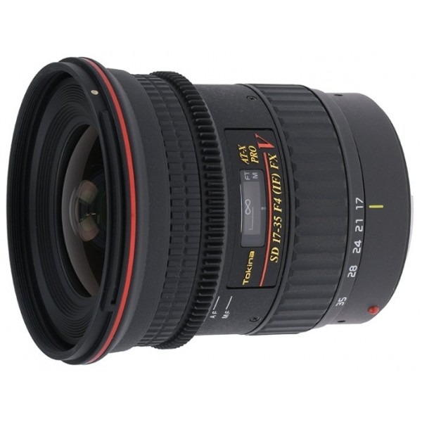 Tokina AT-X 17-35mm f/4 Pro FX V Canon EF