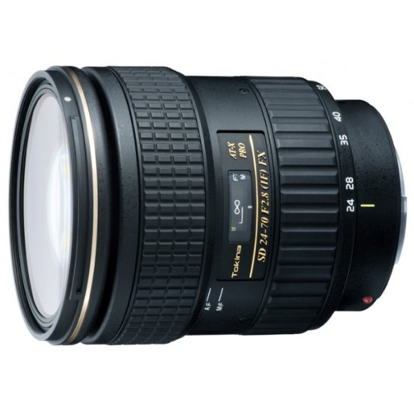Tokina AT-X 24-70mm f/2.8 PRO Aspherical SD (IF) FX Canon EF